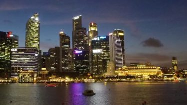 Singapore  Night View シンガポールの夜景 4K