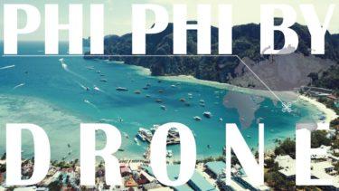 秘島ピピ島【映画ザ・ビーチの舞台】空撮🇹🇭タイ☆世界一周中