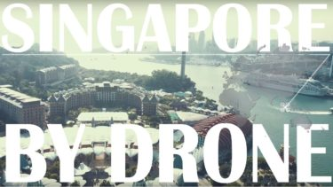 Global Drone Journeyer【 Sentosa × DRONE】Singapore 4K Aerial shot