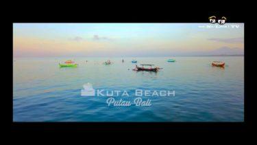 【絶景 4K空撮】KUTA Beach BALI