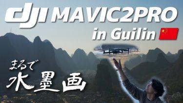 DJI ドローン Mavic2Proで空から見る中国・桂林の景色をどうぞ。まるで水墨画の世界!