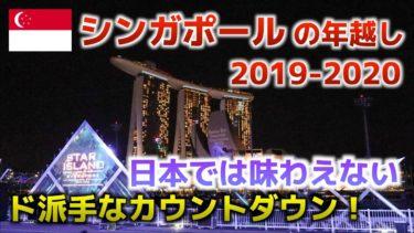 【シンガポール旅行】新年カウントダウンが盛大すぎる!一生に一度は見たい絶景!【STAR ISLAND SINGAPORE 2019-2020】