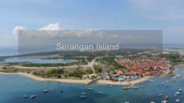 🇮🇩 Serangan Island / Bali / Indonesia [4K Ultra HD drone]