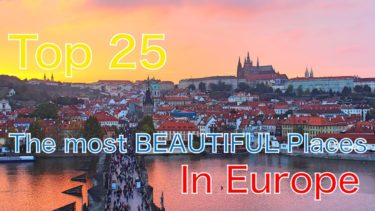 TOP 25 Most Beautiful Places to visit in Europe | 4K | ヨーロッパ旅行観光25選おすすめ | 世界一周スライドショー | slideshow
