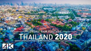 【4K】Drone RAW Footage | This is THAILAND 2020 | Bangkok | Koh Samui and More | UltraHD Stock Video