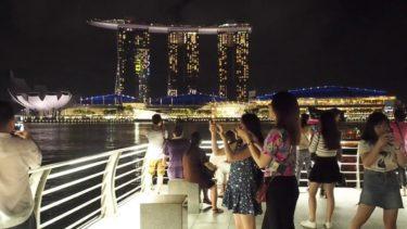 絶景・夜景 シンガポール  beautiful night view  singapore