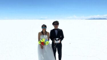 Taking a Drone on Honeymoon  – 400 Days Around the World