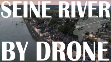 Global Drone Journeyer【Seine River × Peaceboat 】France 4K Aerial shot