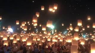 超感動♡【死ぬ前に見たい世界の絶景】 タイの「コムローイ祭り」世界の絶景!まるで映画の世界!