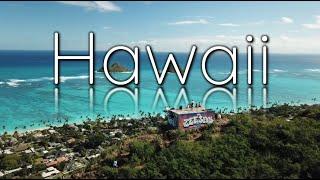 【4K】ハワイの絶景スポット4選(空撮映像)
